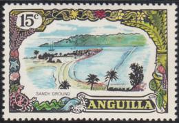 Anguilla 1970 MH Sc #106 15c Sandy Ground - Anguilla (1968-...)