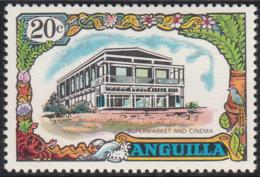 Anguilla 1970 MH Sc #107 20c Supermarket, Cinema - Anguilla (1968-...)