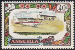 Anguilla 1970 MH Sc #109 40c Airport, Airplane - Anguilla (1968-...)