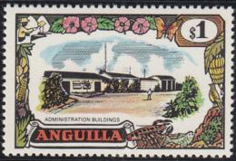 Anguilla 1970 MH Sc #111 $1 Administration Buildings - Anguilla (1968-...)
