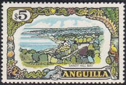 Anguilla 1970 MH Sc #113 $5 Sandy Hill Bay - Anguilla (1968-...)