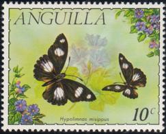 Anguilla 1971 MH Sc #123 10c Hypolimnas Misippus Butterflies - Anguilla (1968-...)