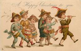 A HAPPY CHRISTMAS TO YOU - Enfants Musiciens, Tambours. - Gruppi Di Bambini & Famiglie