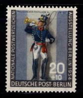 Berlin 1954 Mi. 120 Neuf ** 100% 20 Pf, Militaire - [5] Berlin