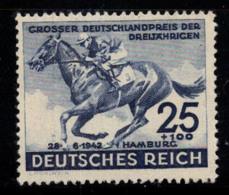 Empire Allemand 1942 Mi. 814 Neuf ** 100% 25 Pf, Cheval - Deutschland