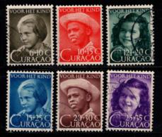 Curaçao 1948 Mi. 288-293 Oblitéré 100% Jungle - Niederländische Antillen, Curaçao, Aruba