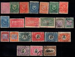 République Dominicaine 1881-1902 Oblitéré 100% Les Armoiries, La Personnalité - República Dominicana