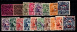 Guatemala 1897-1901 Oblitéré 100% Surimprimé - Guatemala