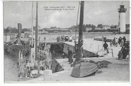 """CPA 17200 ROYAN :  Débarcadère Du Vieux Port  Cliché """"Braun""""   1910?   Carte Rare - Royan"""