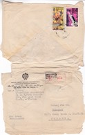 M659 Vietnam Lettre Recommandée, Affranchissement Mixte, Embassy Of The Hungarian People 's Republic Hanoi To Budapest - Vietnam