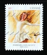 142. CANADA 2012 USED STAMP BARBARA ANN SCOTT - 1952-.... Règne D'Elizabeth II