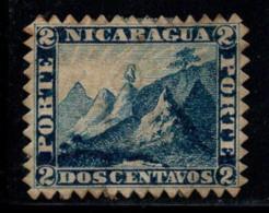 Nicaragua 1862 Mi. 1 Sans Gomme 20% 2 C, Paysage - Nicaragua