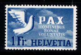 Suisse 1945 Mi. 455 Neuf ** 100% 1 Fr, Europe, Paix - Schweiz