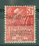 FRANCE - N° 272 Oblitéré - Exposition Coloniale Internationale De Paris. Femme Fachi. - Francia