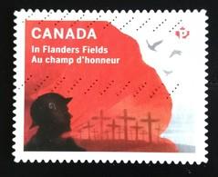 142. CANADA USED STAMP FLANDERS FIELD - 1952-.... Règne D'Elizabeth II