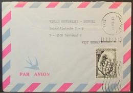 Tunisia - Cover To Germany 1990 Human Rights 370m Solo - Tunisia