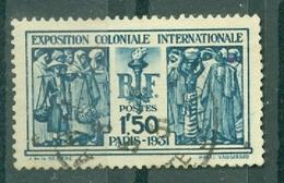 FRANCE - N° 274 Oblitéré - Exposition Coloniale Internationale De Paris. - Francia