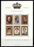 Luxembourg 1990 Mi. Bl. 16 Bloc Feuillet 100% Famille Royale, Dinnasa - Neufs