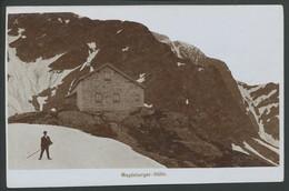 Ansichtskarte -Magdeburger-Hütte - Ansichtskarten