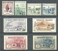 Série Des Orphelins N° 162 à 169 Nfs CHARNIERE - Francia