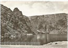 CPSM  Vosges Lac Blanc Rocher De Hans - France