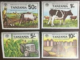 Tanzania 1982 World Food Day Animals MNH - Tanzania (1964-...)