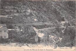 Le Pont Du Plot Sur La Route De Retournac.(Pli Cf Scan) - Frankreich
