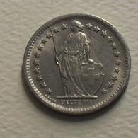 1969 - Suisse - Switzerland - 1/2 FRANC, (B), KM 23a.1 - Schweiz