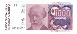 1.000 AUSTRALS 1988 - Argentine