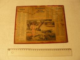 Calendrier Almanach Des Postes Et Télégraphes 1925. - Big : 1921-40