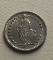 1969 - Suisse - Switzerland - 1/2 FRANC, (sans B), KM 23a.1 - Schweiz