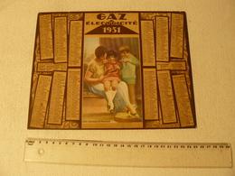Calendrier Almanach Gaz Et électricite 1931. Une Heureuse Maman. - Big : 1921-40