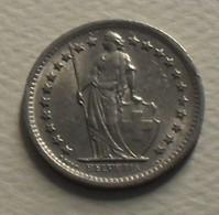 1970 - Suisse - Switzerland - 1/2 FRANC, KM 23a.1 - Schweiz