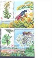 2014. Belarus, Invasive Plants Of Belarus, 2v With Labels,  Mint/** - Belarus