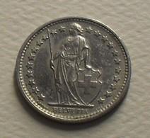 1974 - Suisse - Switzerland - 1/2 FRANC, KM 23a.1 - Schweiz