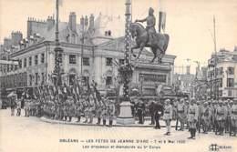 EVENEMENTS - 45 - ORLEANS Fêtes De JEANNE D'ARC 7/8 (Mai 1920) Drapeaux & étendards Du 5 ème Corps - CPA - Loiret - Eventos