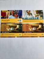 4 Different Prepaids Rwanda - Rwanda