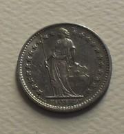 1975 - Suisse - Switzerland - 1/2 FRANC, KM 23a.1 - Schweiz