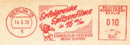 Freistempel 9601 Film Trickfilmfigur - Affrancature Meccaniche Rosse (EMA)