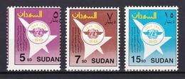 Sudan - 1994 - ( ICAO, 50th Anniv. ) - Complete Set - MNH (**) - Sudan (1954-...)