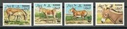 Sudan - 1994 - ( Wild Ass - Animals ) - Complete Set - MNH (**) - Sudan (1954-...)