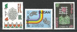 Sudan - 1993 - ( Intl. Human Rights Day ) - Complete Set - MNH (**) - Sudan (1954-...)