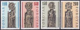 FÄRÖER 1980 Mi-Nr. 55/58 ** MNH - Islas Faeroes