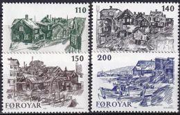 FÄRÖER 1981 Mi-Nr. 59/62 ** MNH - Islas Faeroes
