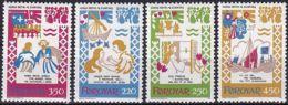 FÄRÖER 1982 Mi-Nr. 75/78 ** MNH - Islas Faeroes