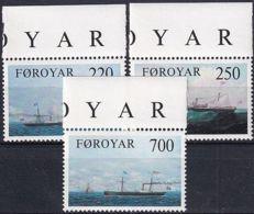 FÄRÖER 1983 Mi-Nr. 79/81 ** MNH - Islas Faeroes