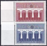 FÄRÖER 1984 Mi-Nr. 97/98 ** MNH - Islas Faeroes