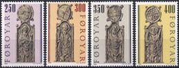 FÄRÖER 1984 Mi-Nr. 93/96 ** MNH - Islas Faeroes