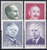 FÄRÖER 1984 Mi-Nr. 99/02 ** MNH - Islas Faeroes