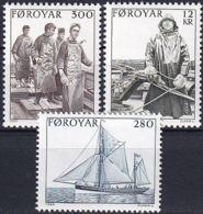 FÄRÖER 1984 Mi-Nr. 103/05 ** MNH - Islas Faeroes
